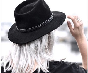 girl, hat, and style image