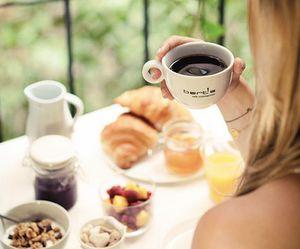blonde, breakfast, and dinner image