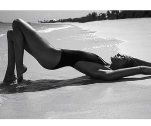 angel, elsa hosk, and beach image