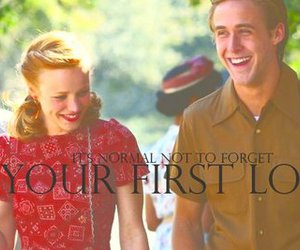 love, first love, and the notebook image