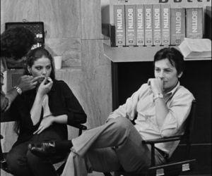 Alain Delon, cinema, and vintage image