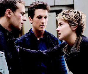 four, insurgent, and peter image