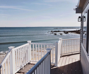 summer, house, and ocean image