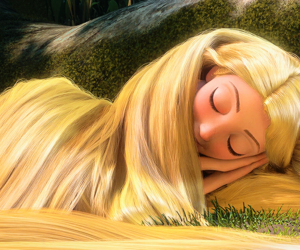 girl, rapunzel, and tangled image