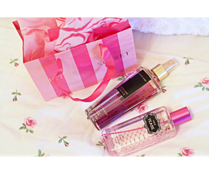 girly, pink, and vs image