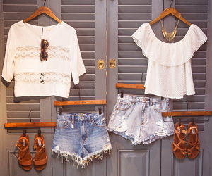 fashion, outfit, and hollister image