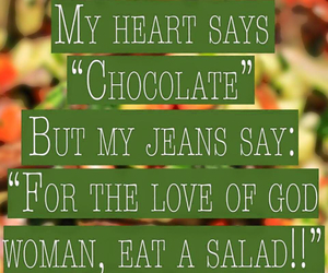chocolate, quote, and funny image