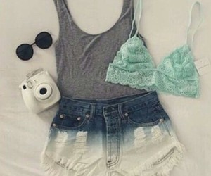 clothes, fashion, and instax image
