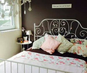 bedroom, pink, and diy image