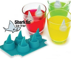 ice, shark, and drink image