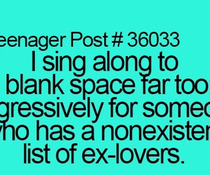 ex, funny, and singing image
