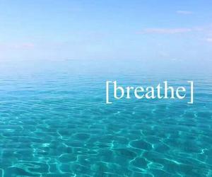 blue, breathe, and reflection image