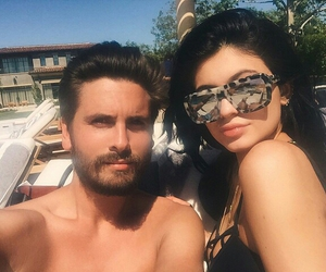 kylie jenner and scott disick image