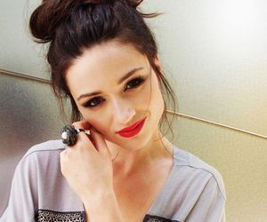 beautiful, brown hair, and crystal reed image