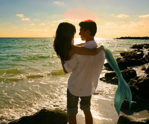 Awe, beach, and boy image