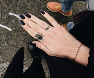 accessories, black, and grunge image