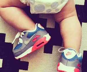 baby, nike, and air max image