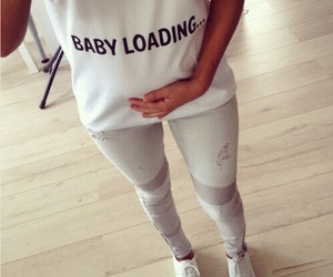 baby, loading, and pregnant image
