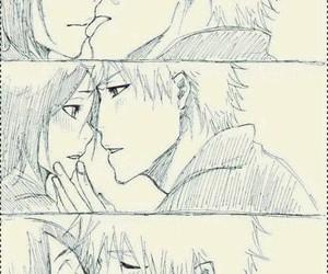 bleach, kiss, and anime image
