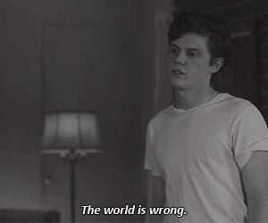 american horror story, world, and wrong image