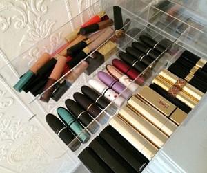 makeup, mac, and lips image