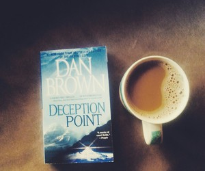 blue, book, and coffee image