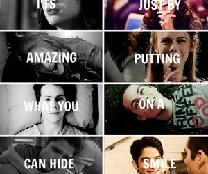 black and white, quotes, and tyler posey image