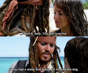 funny, johnny depp, and jack sparrow image