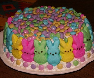 cake, bunny, and colorful image