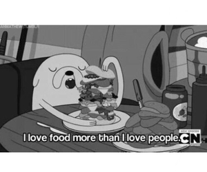 food, love, and adventure time image