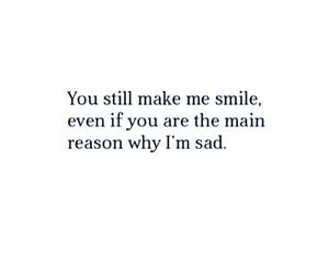 Relationship and sad image