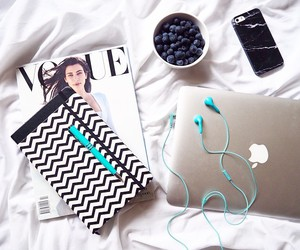 apple, vogue, and iphone image