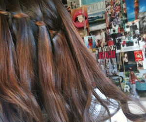 braid, hipster, and ombre image
