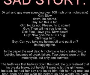 sad, love, and sad story image