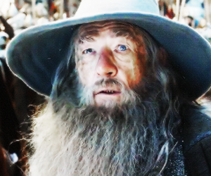 gandalf, gif, and lord of the rings image
