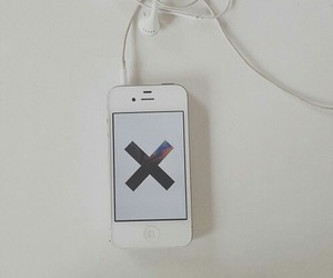 iphone, music, and the xx image
