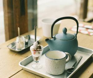 food, tea, and dessert image