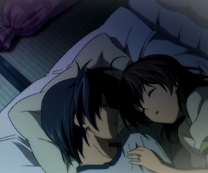 anime, clannad, and couple image