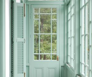 green, mint, and door image