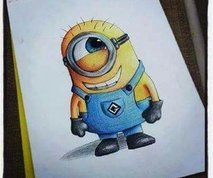 disegni, laugh, and minions image