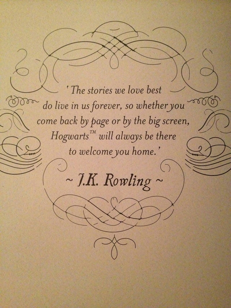 harry potter and quote image