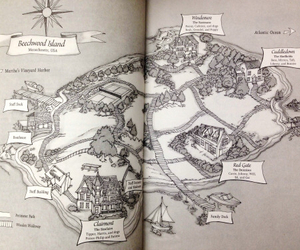 we were liars and map image