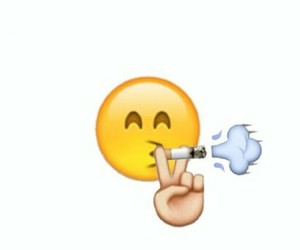 fumar, tumblr, and emoji image