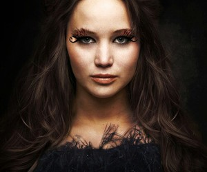 Jennifer Lawrence, hunger games, and catching fire image