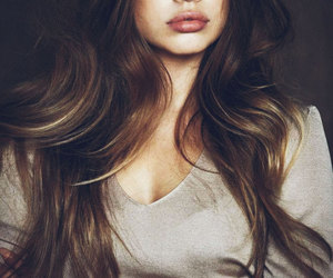 beauty, hair, and model image