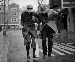 black and white, vintage, and fashion image