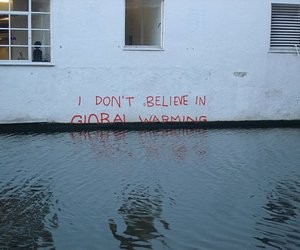 global warming and water image