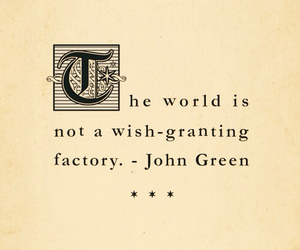 john green, quote, and world image