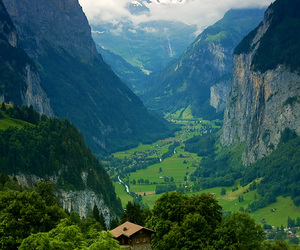 mountains, nature, and switzerland image