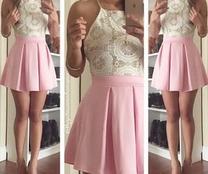 dress, cute, and girl image